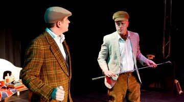A Morning with Guy Burgess, Courtyard Theatre