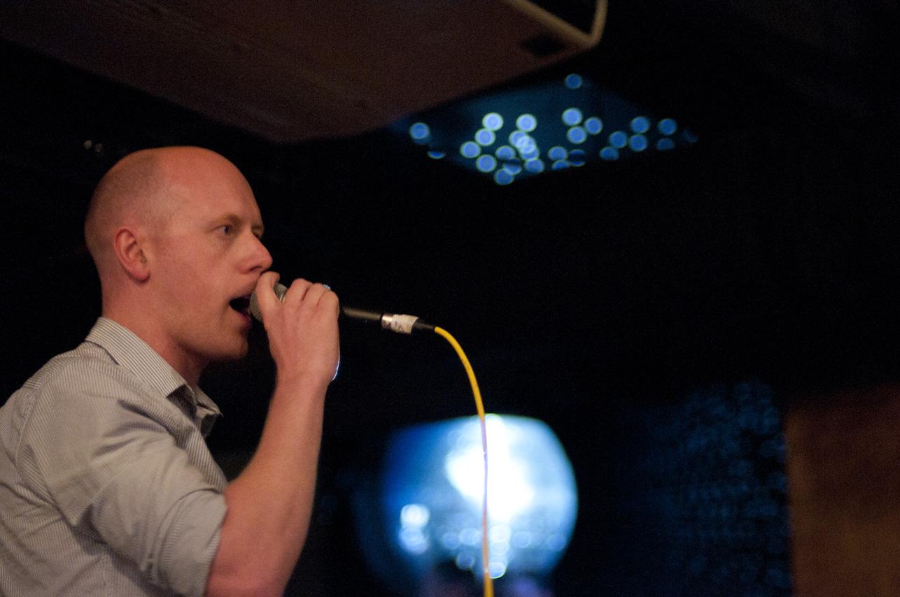 London gig, 2012