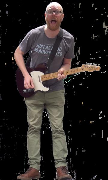 guitar cutout